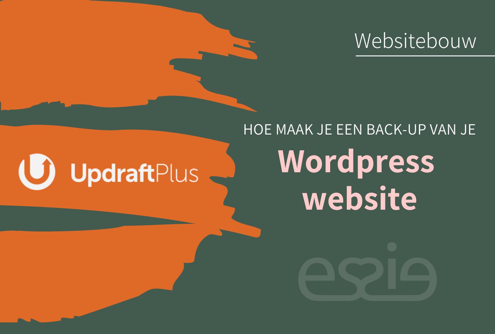 Updraftplus backup wordpress