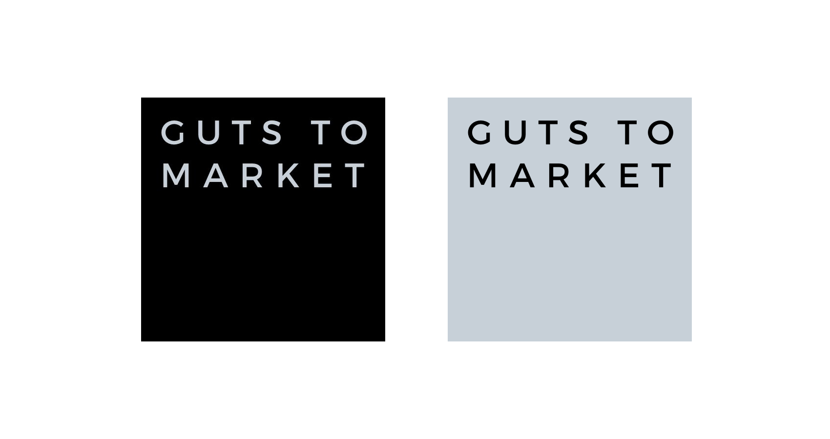guts to market logo