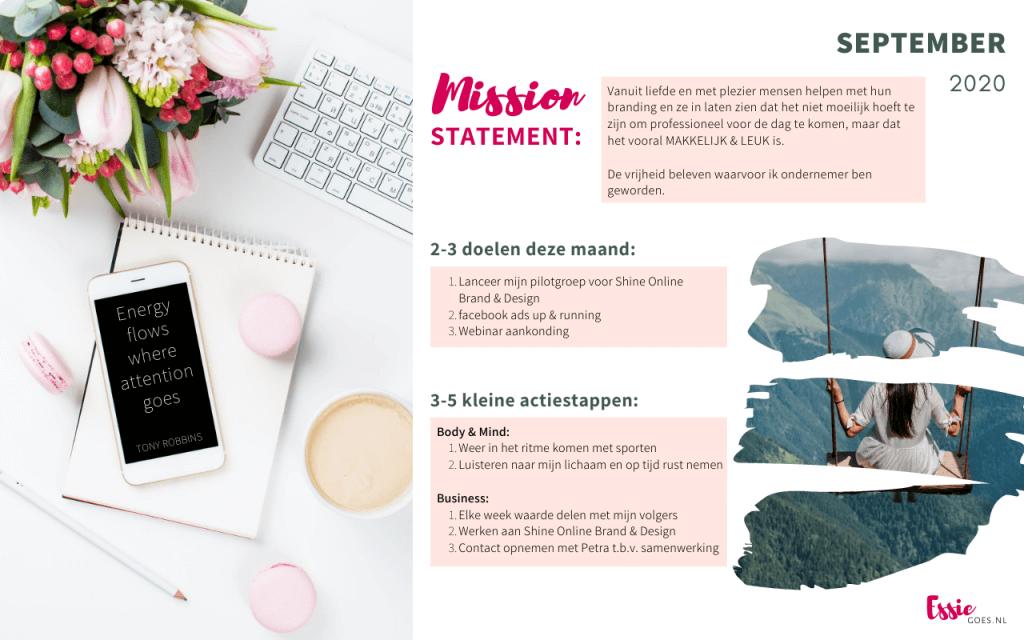 Mission Statement & Goals