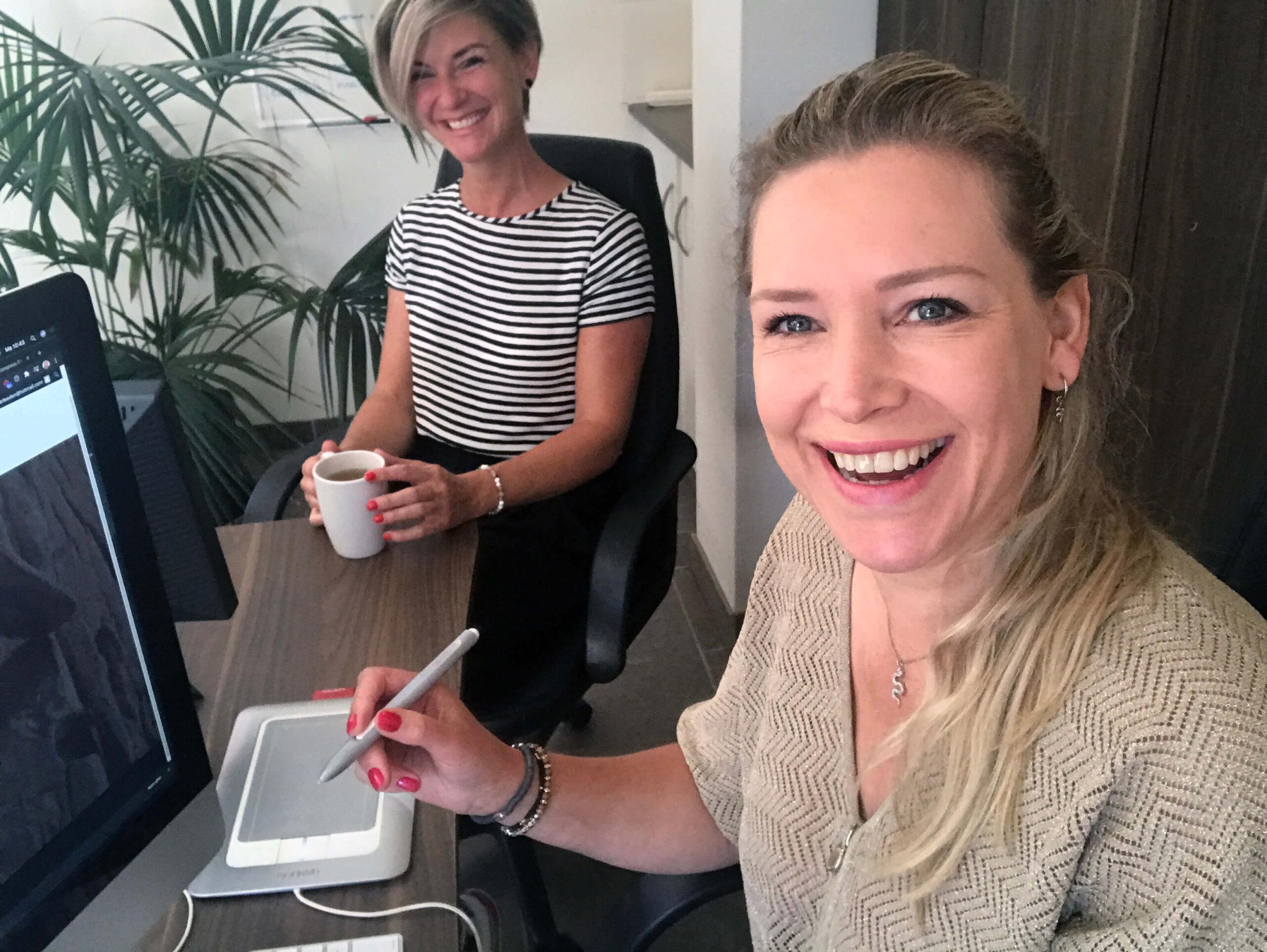 Essie en Jolanda