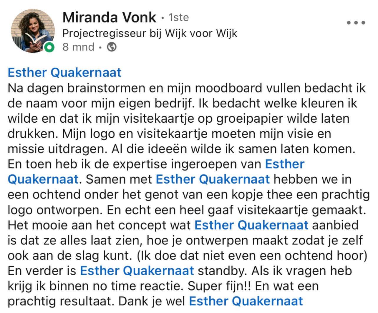 Miranda linkedin